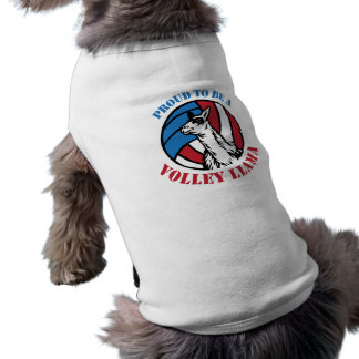 Doggy Proud to be a Volley Llama Shirt