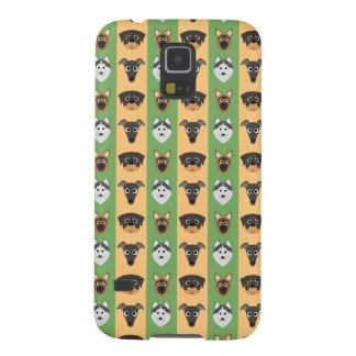 Doggy Stripes Cases For Galaxy S5