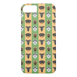 Doggy Stripes iPhone 7 Case