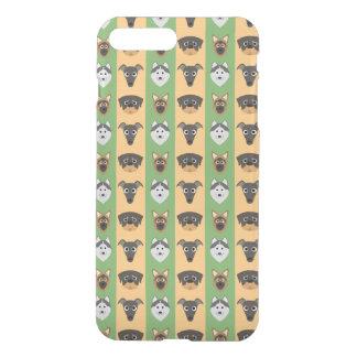 Doggy Stripes iPhone 7 Plus Case