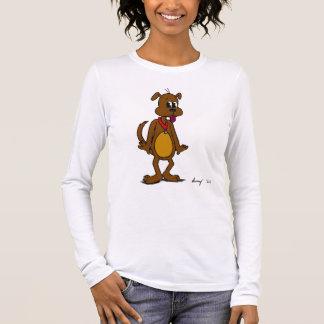Doggy Toon Womens Long-Sleeve T-Shirt