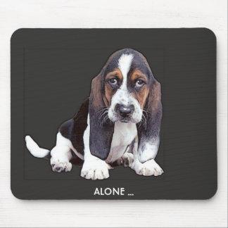 doggyalone mouse pad