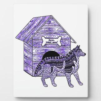 Doghouse Plaque