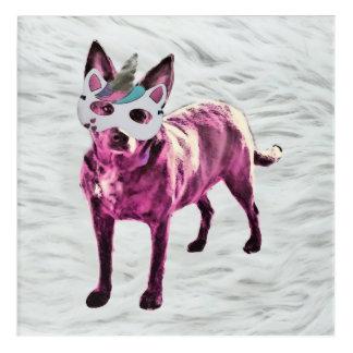Dogicorn Acrylic Print (12x12)