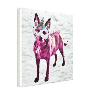 Dogicorn Canvas Print (12x12)