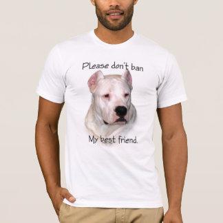 Dogo Argentino Anti-BSL T-Shirt