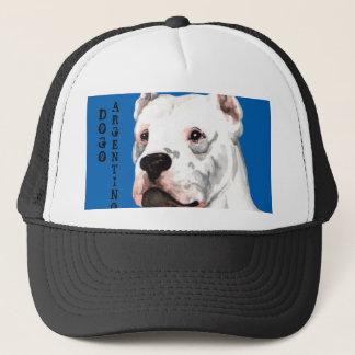 Dogo Argentino Color Block Trucker Hat