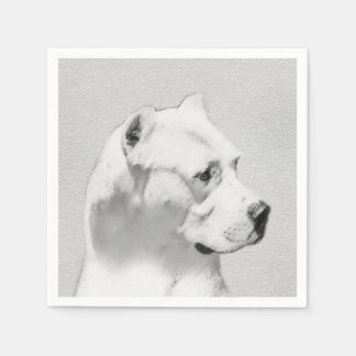 Dogo Argentino Disposable Napkins