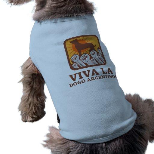 Dogo Argentino Dog Clothing