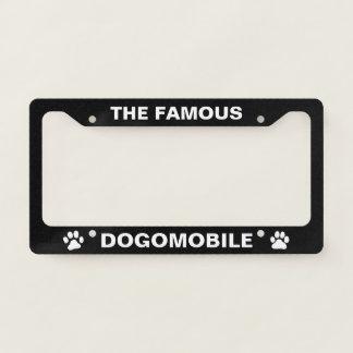 Dogo Argentino Dogomobile Custom Licence Plate Frame