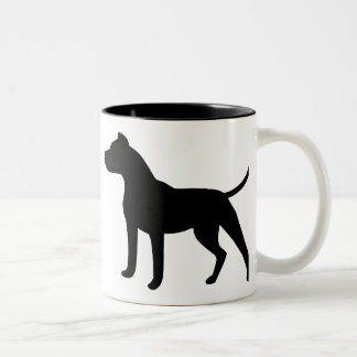 Dogo Argentino Two-Tone Coffee Mug