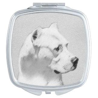 Dogo Argentino Vanity Mirror