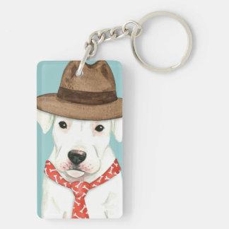 Dogo Dad Keychain