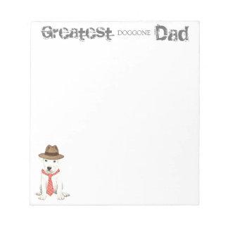 Dogo Dad Notepad