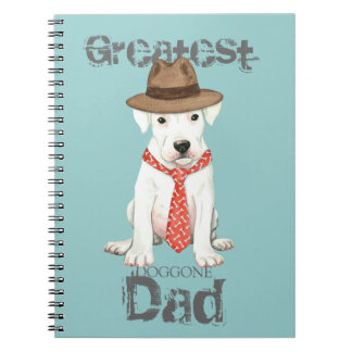 Dogo Dad Spiral Notebook