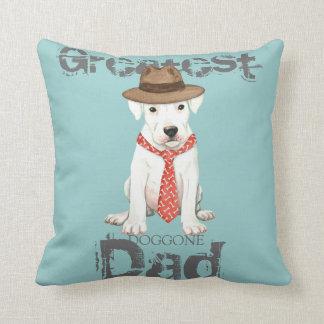Dogo Dad Throw Pillow