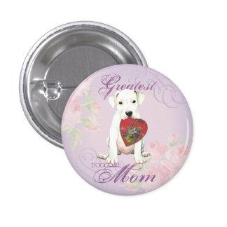 Dogo Heart Mom 1 Inch Round Button