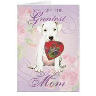 Dogo Heart Mom Card