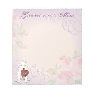 Dogo Heart Mom Notepad