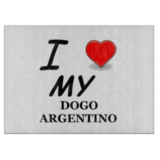 dogo love cutting board