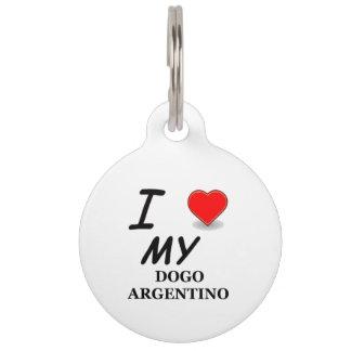 dogo love pet ID tags