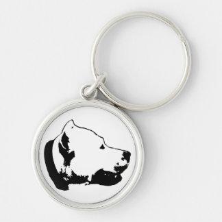Dogos Premium Round Keychain