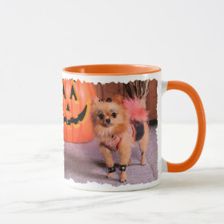 DogOWeen 2009 Cutest Dog Winner Angel - Pomeranian Mug