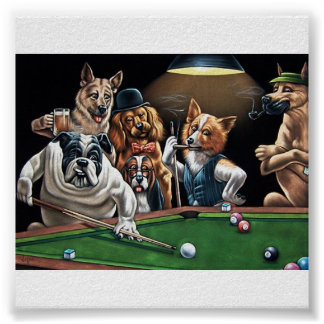 dogs%20playing%20poker22 poster