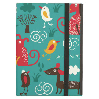 Dogs and birds iPad air cover