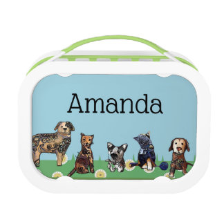 Dogs and Cats Lunch Box