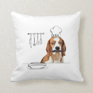 Dogs and Doodles - Chef Dog Pillow