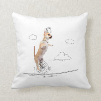 Dogs and Doodles - Doggie Tight Rope Pillow