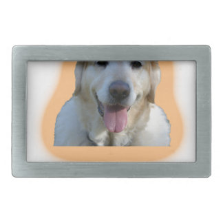 Dogs are better than human beings rectangular belt buckle