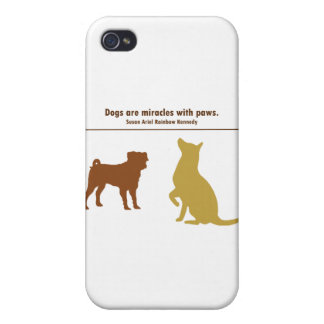 Dogs Are Miracles iPhone 4/4S Cover