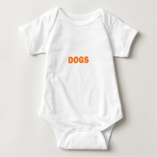DOGS BABY BODYSUIT
