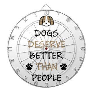 Dogs Deserve Better Dartboard