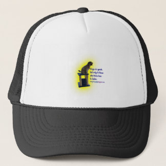 Dogs do speak trucker hat