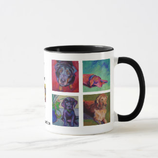 DOGS, DOGS, DOGS • A Paint Squared WOOF! Mug