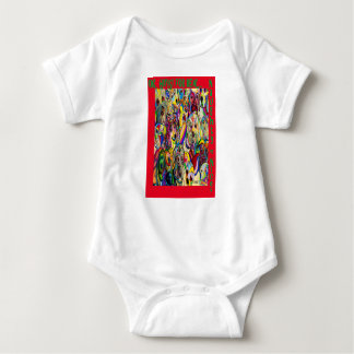 Dogs, Dogs, DOGS! Naughty or Nice? Baby Bodysuit