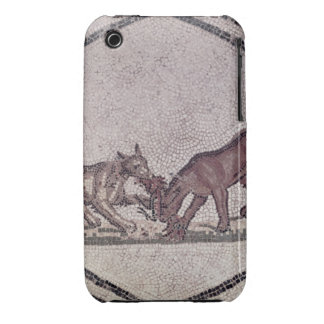 Dogs Fighting for a Bird, Roman, 2nd-3rd century ( Case-Mate iPhone 3 Case