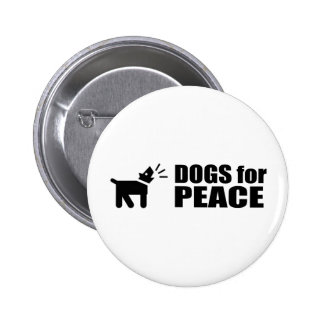Dogs for Peace Pin