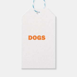 DOGS GIFT TAGS
