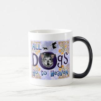 Dogs Go To Heaven2 Magic Mug