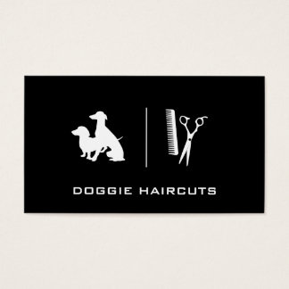 Dogs   Grooming Business Card