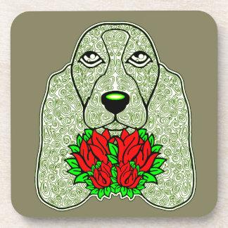 Dog's Head 3 Coaster