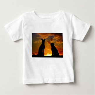 Dogs in the Sunset Baby T-Shirt