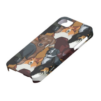 Dogs iPhone 5 Case