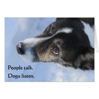 Dogs Listen, Vol. II Card