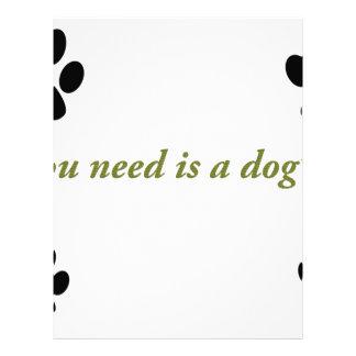 Dogs love letterhead