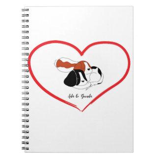 DOG'S LOVE NOTEBOOK